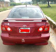 Direct 07/08 Toyota Corolla SPORT WITH FULLY PADDED auto gear for