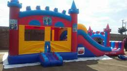 "Bouncing ""bouncy"" castle for hire"