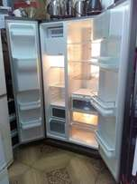 Samsung side by side refrigerator with trade-in accepted