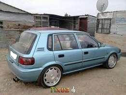 Toyota tazz for sale R14,800