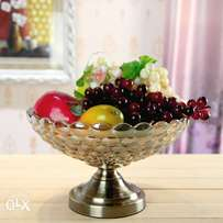 Glass fruit/ Accent bowl