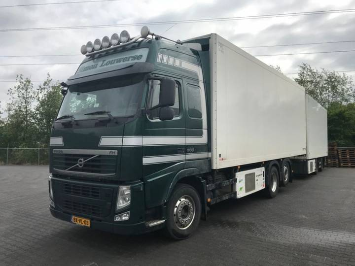 Volvo FH500 6x2 schmitz thermo king bloemendimensions expecting - 2010