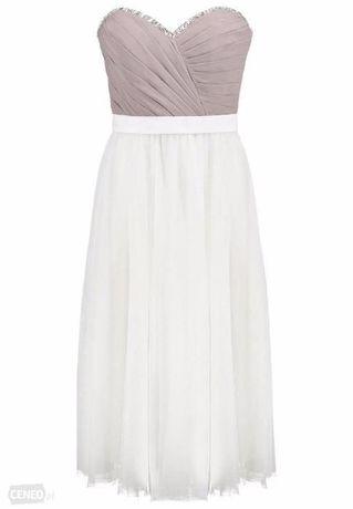 7506ae16df Sukienka Laona - sukienka koktajlowa dune cream white Śrem - image 1
