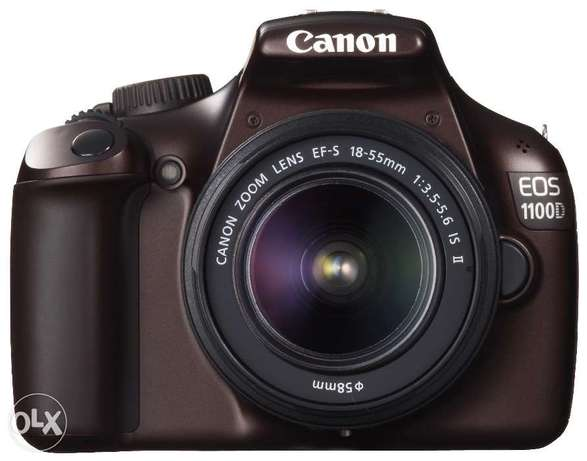 Canon EOS 1100D DSLR Camera and 18-55mm IS II Lens Kit