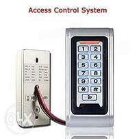 RFID Proximity Metal Case Door Access Controller Entry Door Lock Alarm
