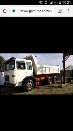MAN 10 cube tipper WITH 407 ADE TURBO Kempton Park - image 4