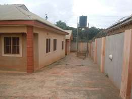 3 bedroom detached.bungalow with bq located in efab estate,lokogoma