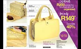 Order any products from Avon and Justine and get them delivered to you