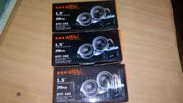 Ads car dome tweeters 200w, free delivery within Nairobi.