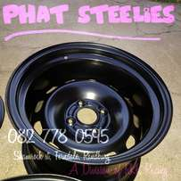 15 inch Widened Steelies 4x108 Ford