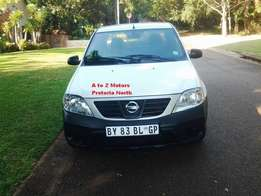 2012 Nissan NP 200 1.6 A/C Safety Pack P/U S/C with 77663 km's