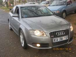 Audi A4 1.8Turbo S-line Automatic with power steering and central lock