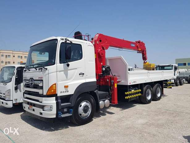 HIAB / Boom truck for Rent