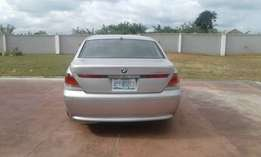 Barely used BMW 745Li for sale