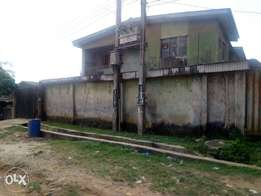 Building of four unit of three bedroom at Igando