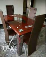 Brown 4Seater Dining Table