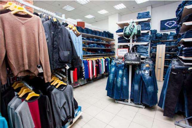 Розпродаємо торгове обладнання (стелажі та стійки) під одяг або взуття Киев  - изображение 3 3ef35f0879192