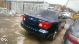 Tokunbo Toyota corolla 2003 for sale