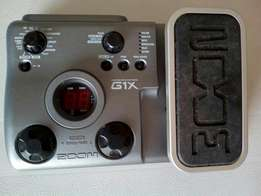 Zoom guita effects pedal G1x