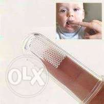 Baby Silicone Finger Toothbrush
