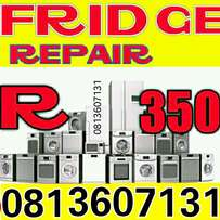 Fridge repair and regas on site