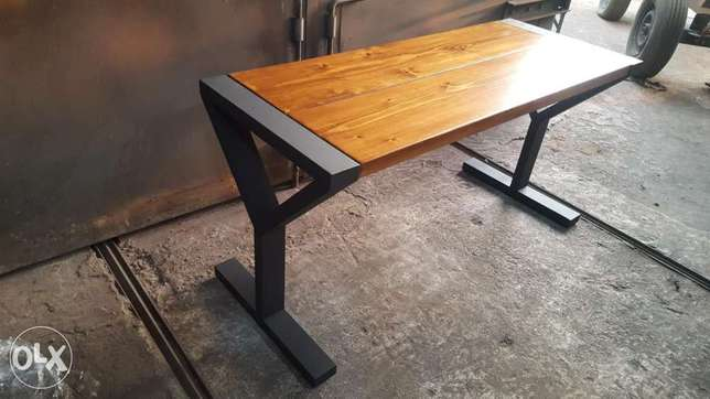 Cool industrial modern design dining table for your home or company