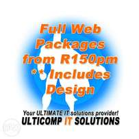 Website Hosting & Design (All inclusive package)