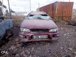 Subaru Impreza spares.engine and gearbox intact,seats,dashboard etc .