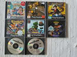8 Original PS1 games