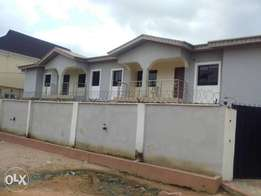 Solid 2Wings Of 4Bedroom Duplex With BQ At Bucknor Estate Ejigbo