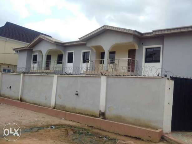 Solid 2Wings Of 4Bedroom Duplex With BQ At Bucknor Estate Ejigbo Isolo - image 2