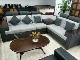 L sofa 5 seaters
