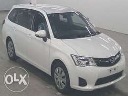 Toyota Fielder New shape in Nairobi
