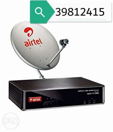 Airtel dish fixing and serviceing