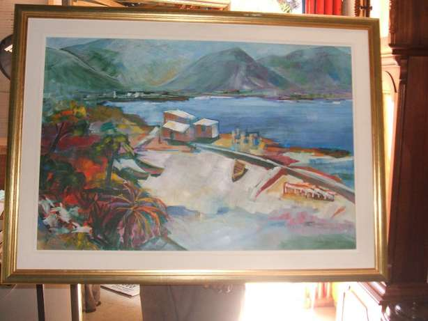 Framed Painting Parow - image 1