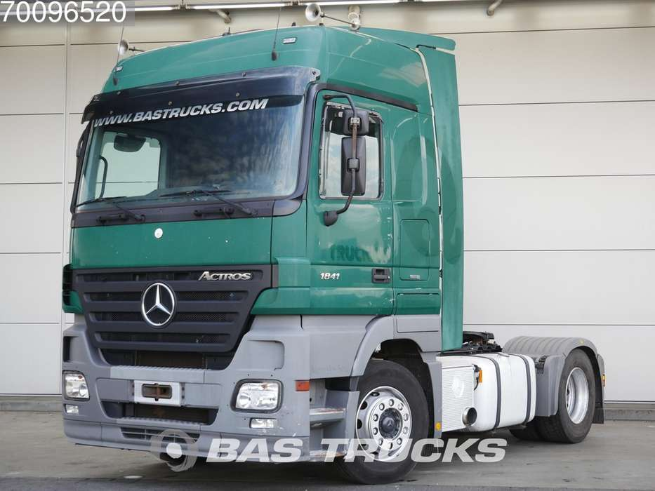 Mercedes-Benz Actros 1841 LS 4X2 3-Pedals Euro 5 - 2006 for