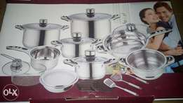 21 pcs cook ware set
