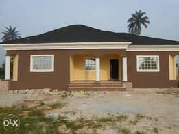 A Tastefully finished 3 BEDROOM Fully Detached Bungalow, Ifa Ikot UYO