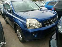 Nissan Xtrail blue colour 2010 model. KCP number Loaded with Alloy rim