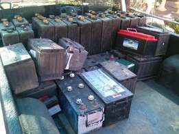 We offer cash for scrap or batteries that are not working
