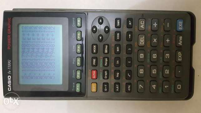 CASIO FX 7700G Power Graphic Calculator