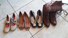 Womens shoes(Heels ,sissyboy boots and small heel pump) Size 6