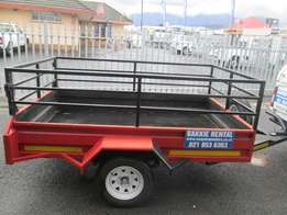 2.4m x 1.5m Trailer for hire