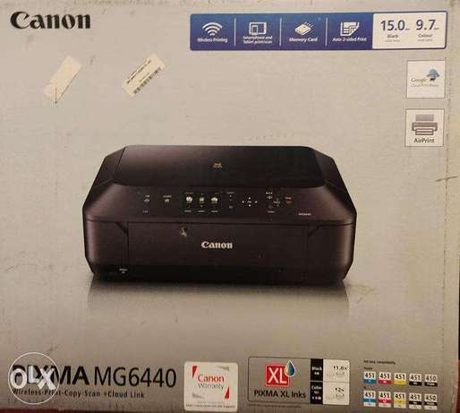 Canon MG6440 3-in-1 Printer طابعة كانون