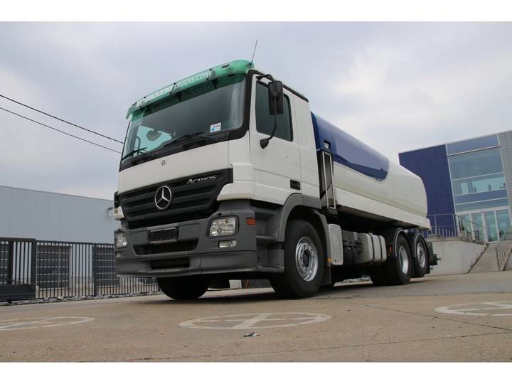 Mercedes-Benz ACTROS 2636 MP2 + TANK STOKOTA 18.000 L (5 comp.) - 2003