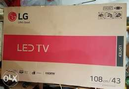 """Brand New LG LED Television 43"""" inch."""
