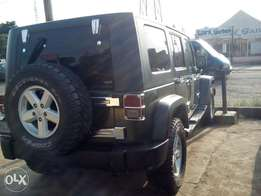 Super clean Wrangler unlimited 2012 model