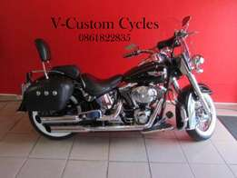 Very Nice 2006 Softail Delux!