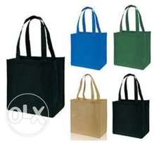 Reusable shopping bags at wholesale prices