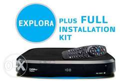 DSTV Explora + Free Installation + Free 1 Month Subscription